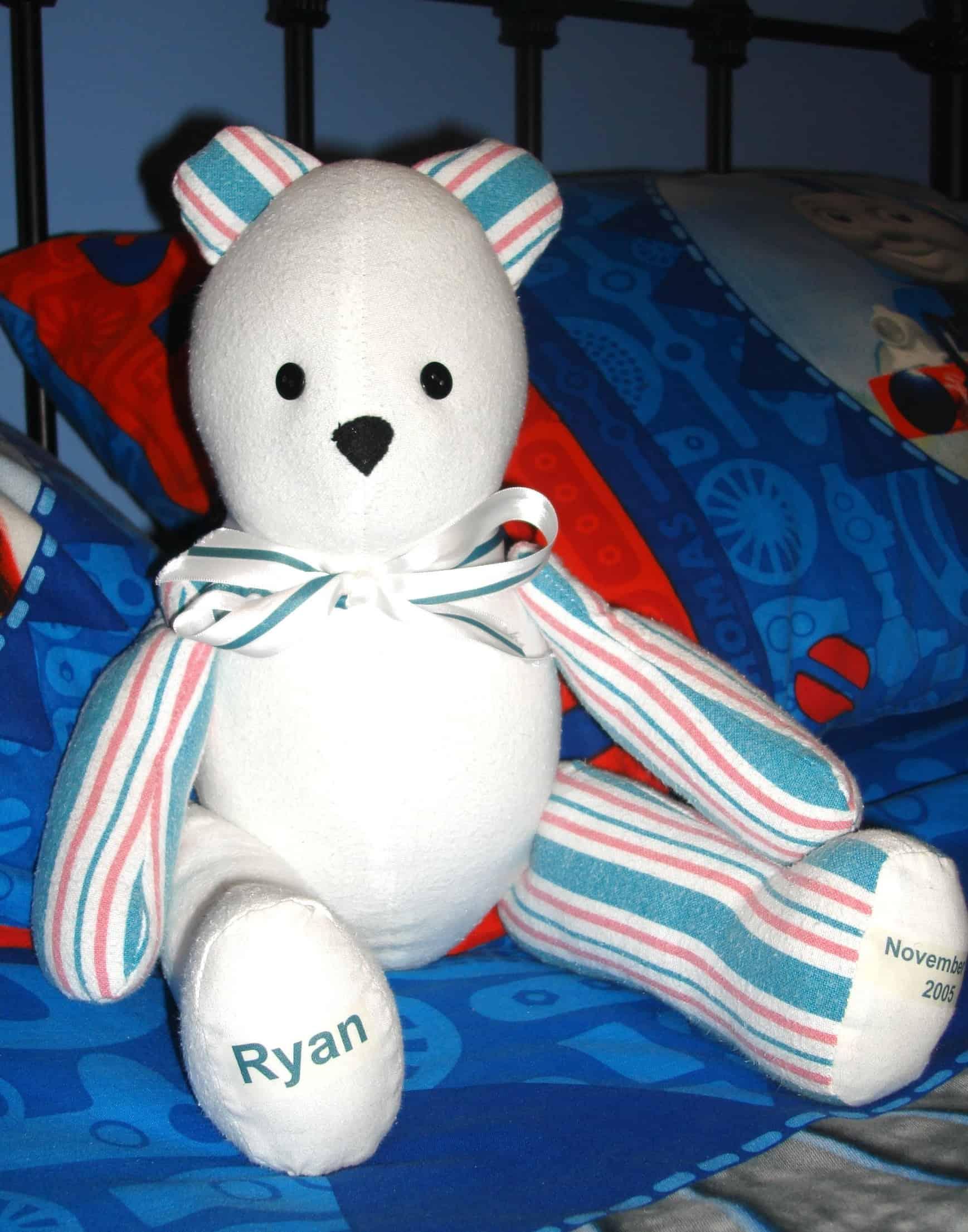 Baby's hospital blanket