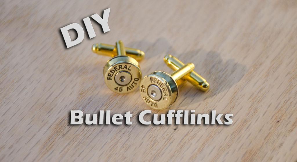Bullet-cufflinks