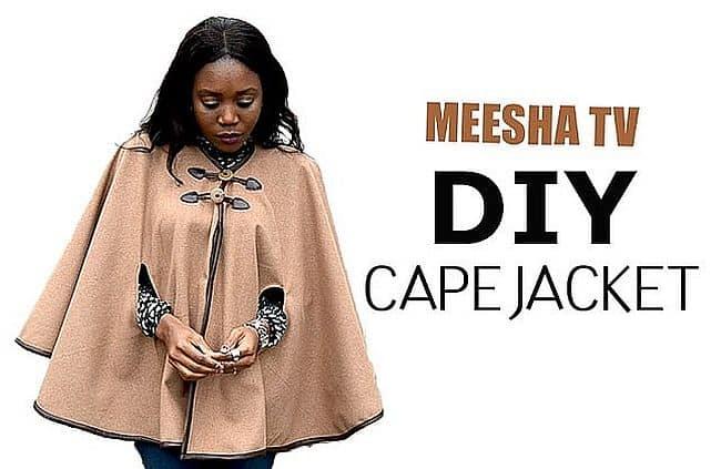 Cape jacket DIY