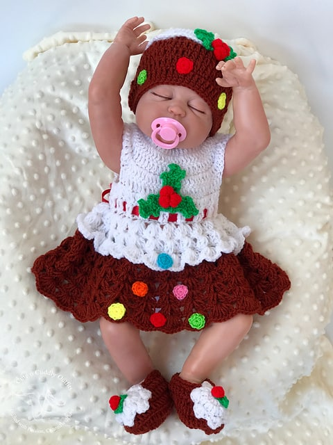 Christmas Pudding dress