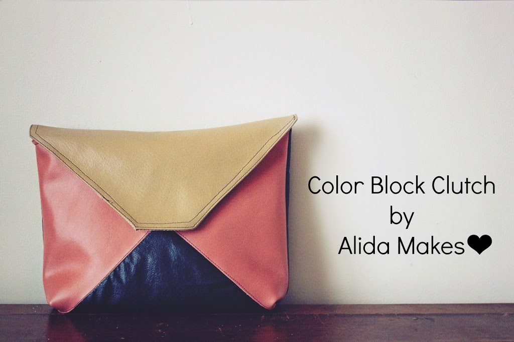 Color Block Clutch
