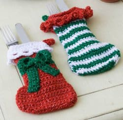 Elf sized stocking ornament