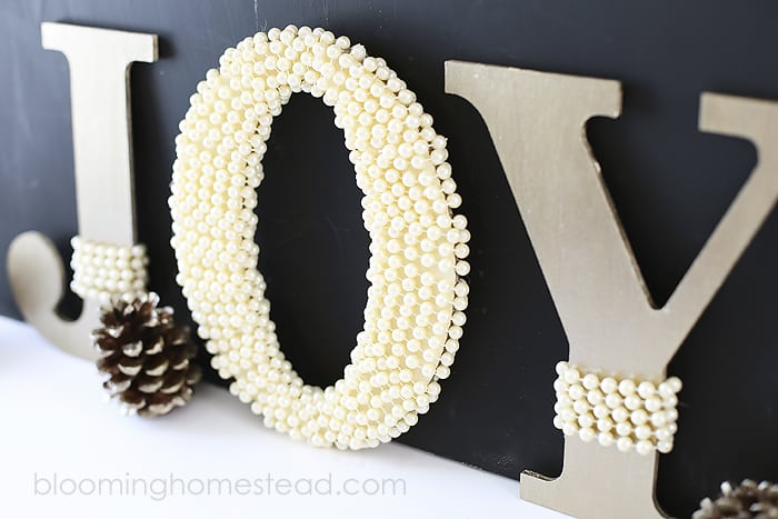 diy letter decor personal style 12 outstanding diy monogram letters 21385 | Embellished Monogram