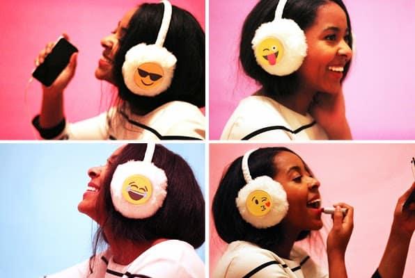 Emoji Ear Muffs
