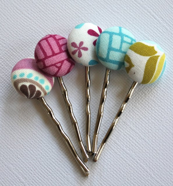 Fabric Bobby Pins