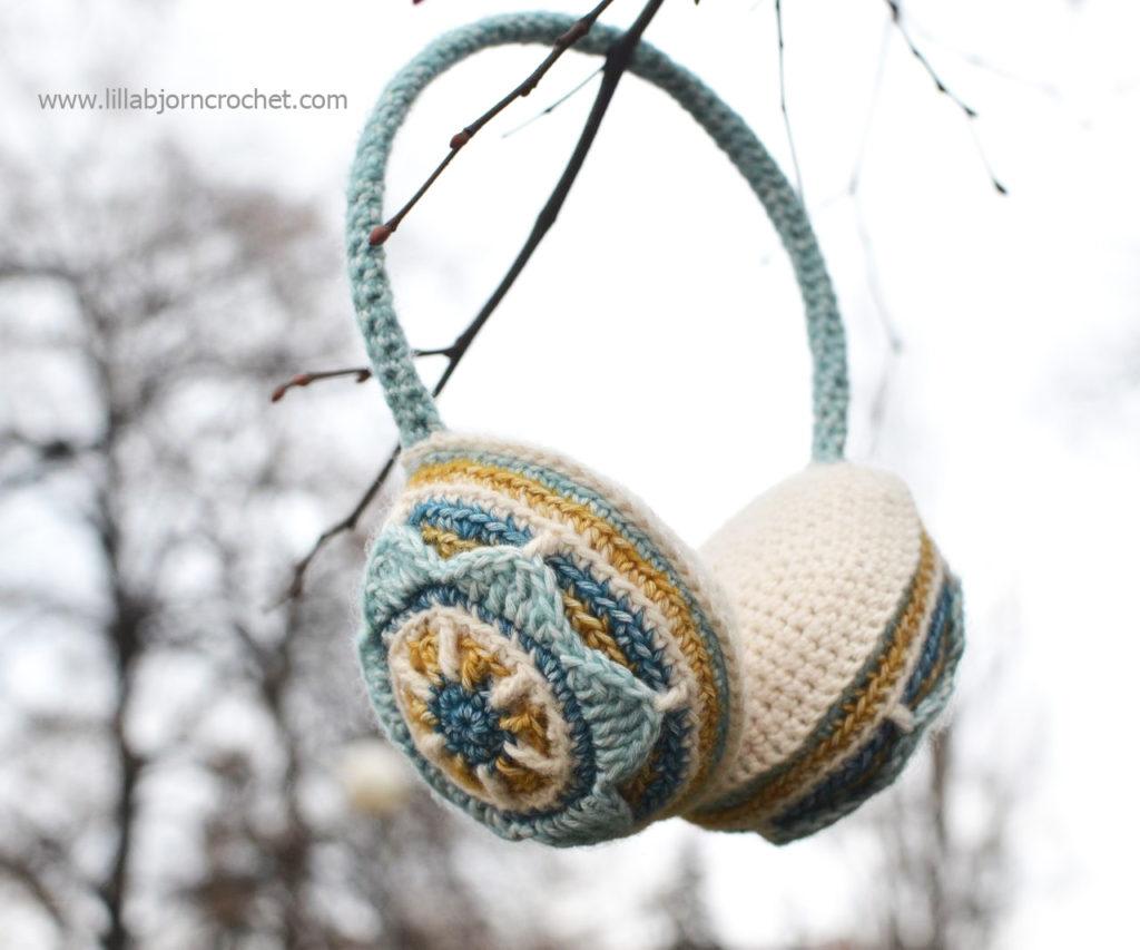 Floral Crochet Ear Muffs