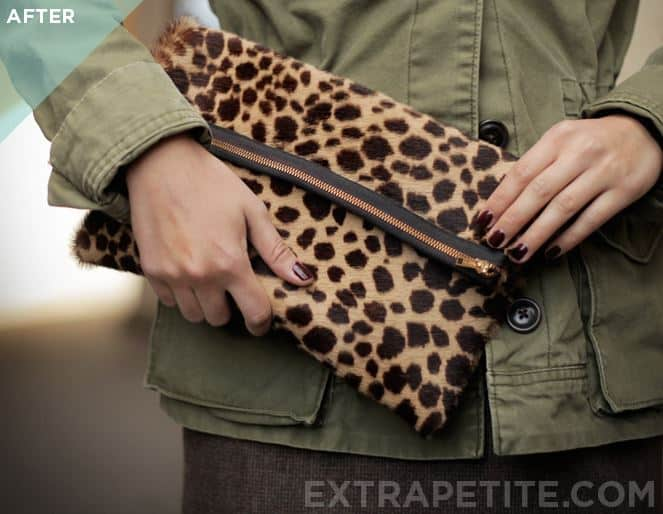 Foldover Style Clutch