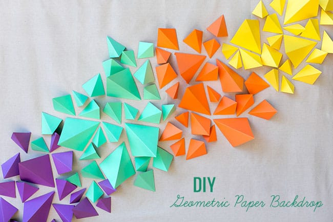 frugal and nifty diy paper backdrops