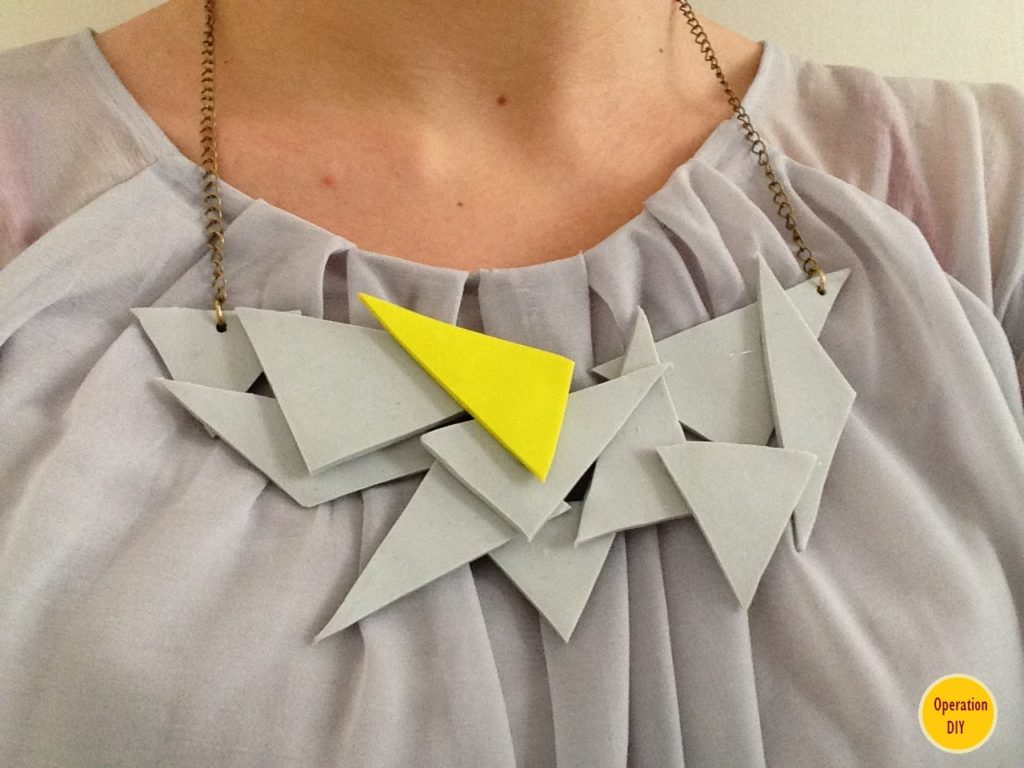 Geometric-necklace
