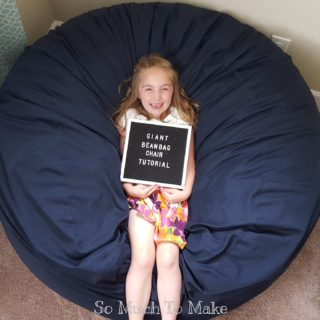 Lounge in Style with These DIY Bean Bags