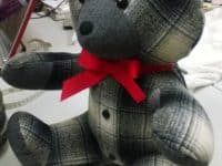 Grandpas plaids 200x150 Ideas for Making Your Own Memory Bear