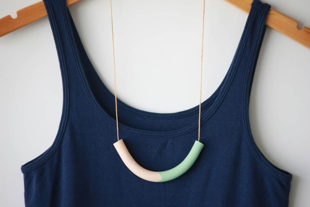 Half-circle-necklace