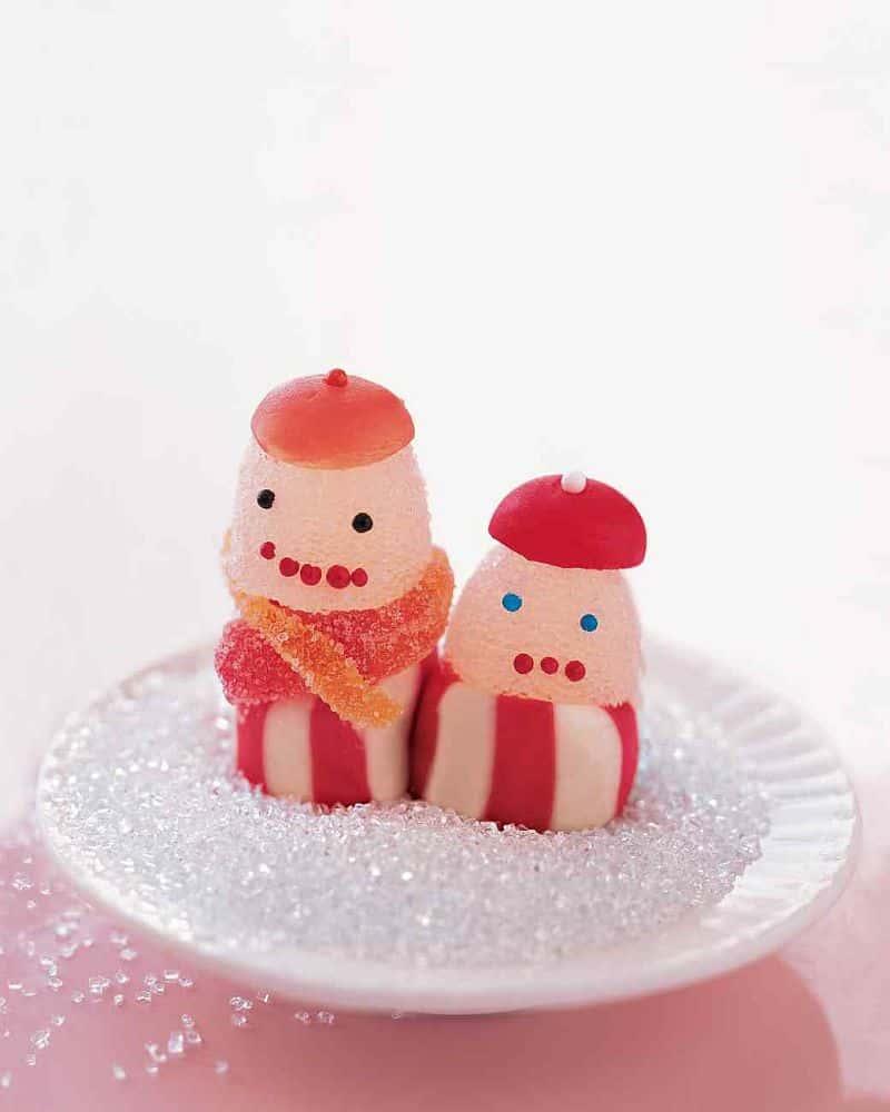 Homemade Christmas candy carolers