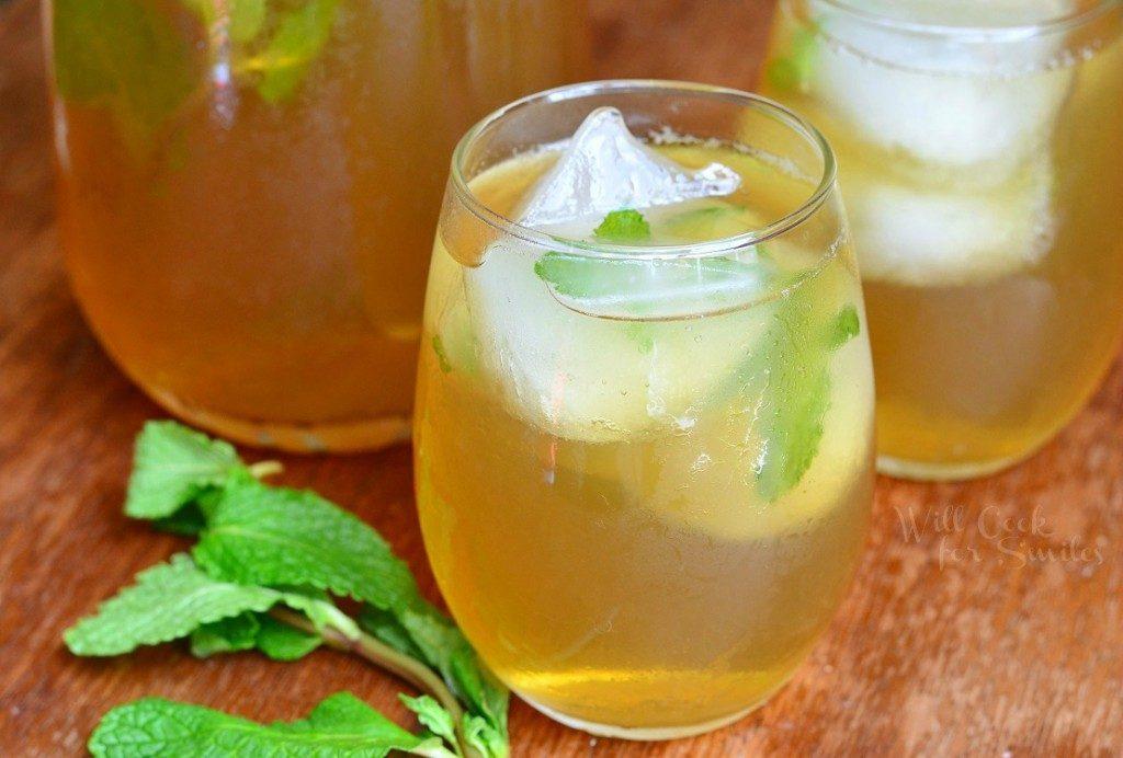 Honey Mint Iced Tea