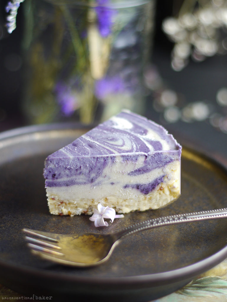 Lilac Cheesecake