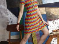 Missoni Inspired Shift Dress 200x150 Crocheted Dress Patterns Just in Time for Christmas!