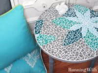 Mosaic Table Top 200x150 Daily Dose Of Stunning: Best DIY Mosaic Projects