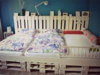Pallet Childrens Bed 200x150 Genius DIY Ways to Turn Pallets into Furniture