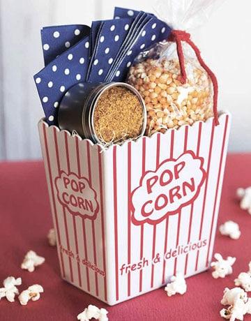 Popcorn basket