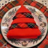 Fun Ways to Fold Your Napkins for Christmas Dinner