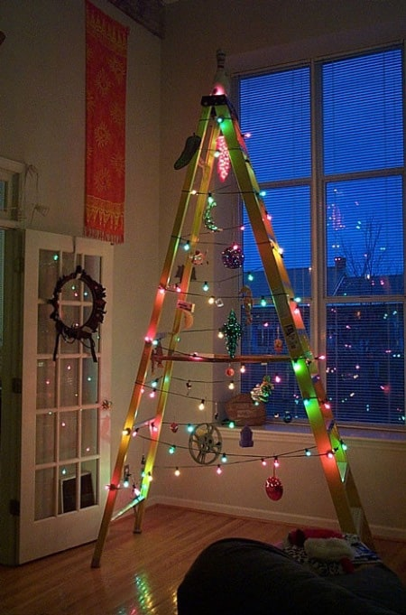 Repurposed ladder tree