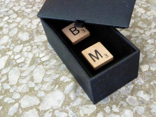 Scrabble-cufflinks
