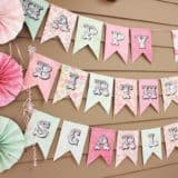Celebrate with a Banner: Creative Birthday Signs for Family Parties