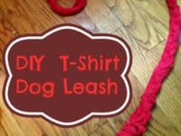 T Shirt Leash 200x150 DIY Dog Leashes for Your Furry Best Friend