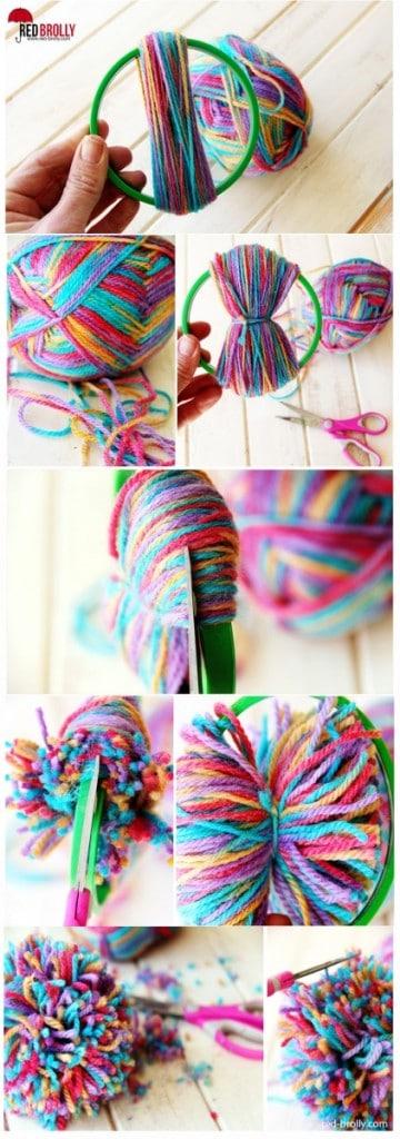 The embroidery hoop method