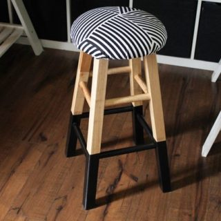 Trendy Furniture: Dashing DIY Bar Stools