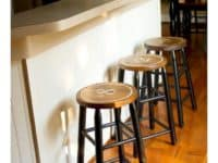 Vintage Bar Stools 200x150 Trendy Furniture: Dashing DIY Bar Stools