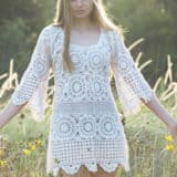 Crocheted Dress Patterns Just in Time for Christmas!