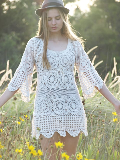 Crocheted Dress Patterns Just In Time For Christmas Interesting Crochet Dress Patterns