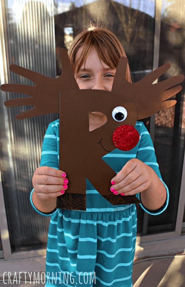 Alphabet reindeer