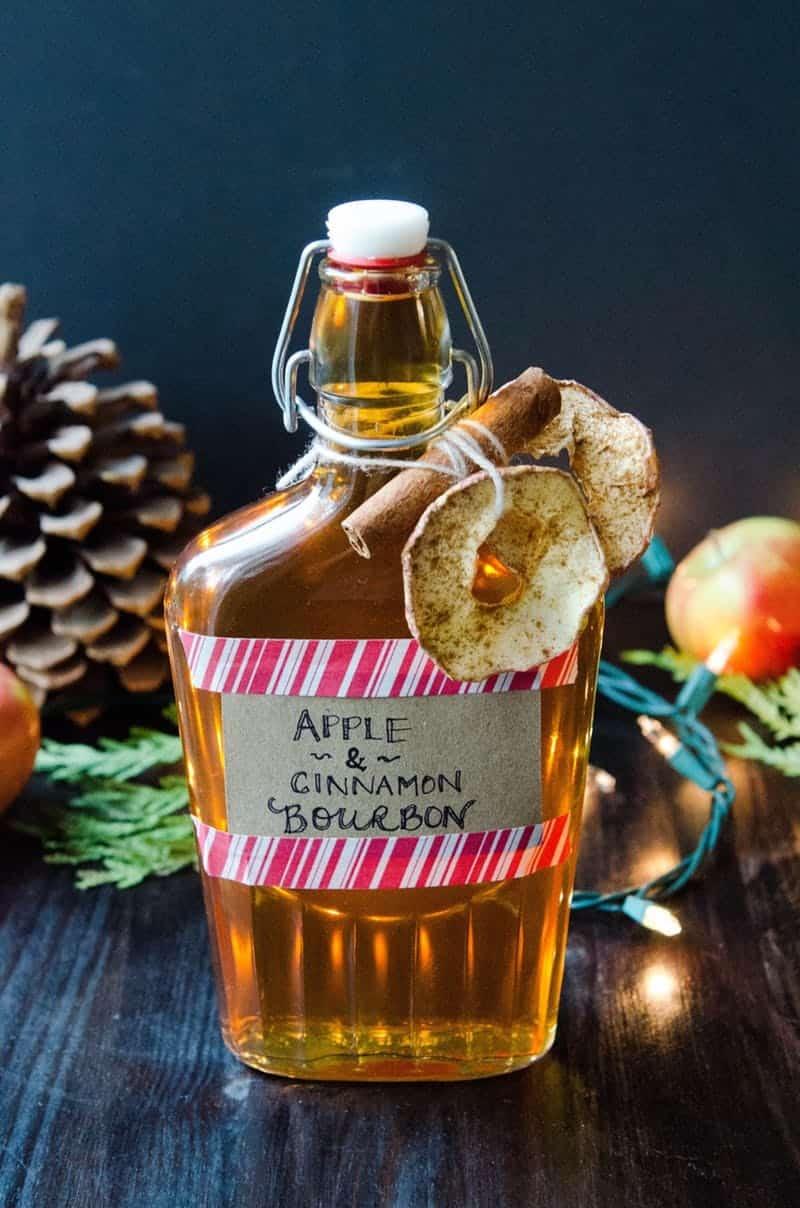 Apple cinnamon bourbon