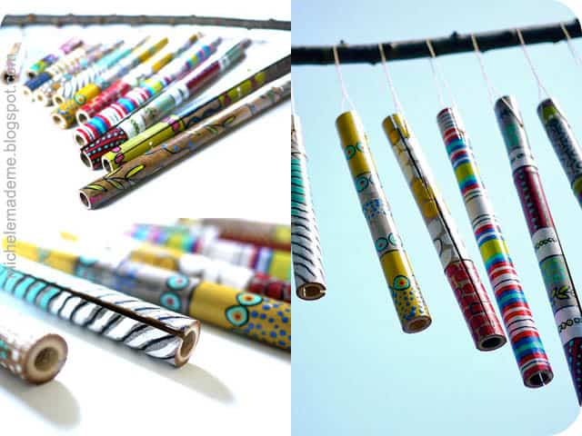 Bamboos wind chimes