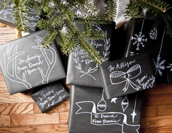 Chalkboard wrap