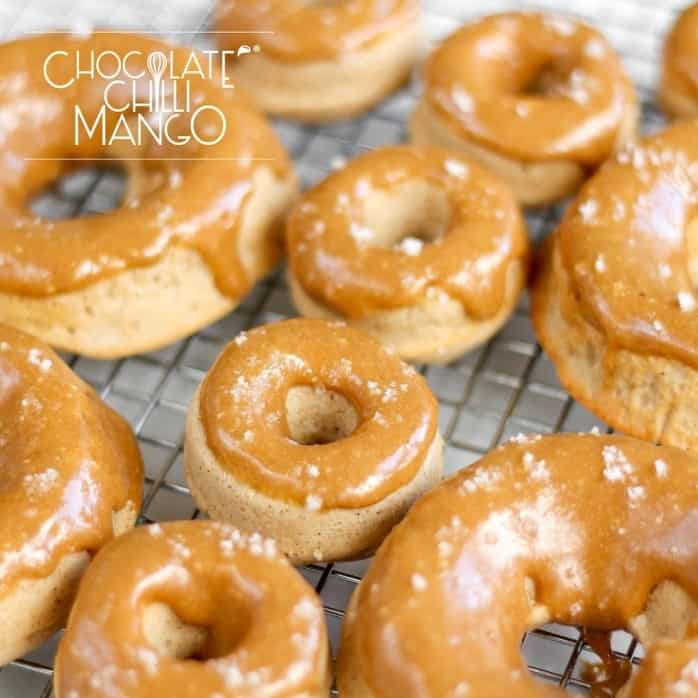 Coffee cinnamon donuts