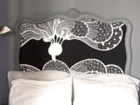 Cool Fancy frame and fabric headboard 200x150 12 Amazing Floating Headboard Designs