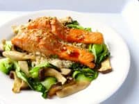 Cool salmon couscous salad with snap peas orange and mint 200x150 15 Delicious Recipes for Mint Lovers