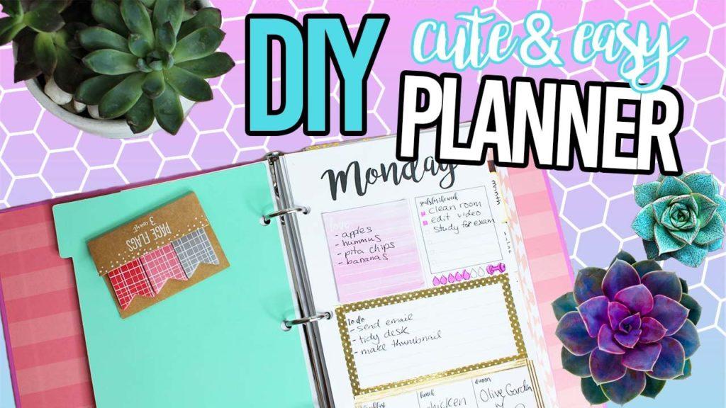 Cute & easy planner