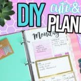 Organize Your 2017 with These DIY Planners