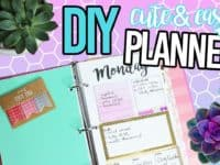 Cute easy planner 200x150 Organize Your 2017 with These DIY Planners