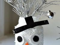 DIY Snowman jars 200x150 Holiday Season Delights: Snowman Themed Crafts for Kids