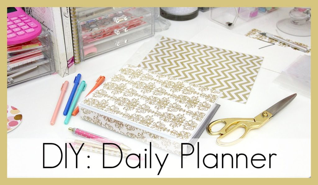 Organize Your Life With These Fabulous Free DIY Planners