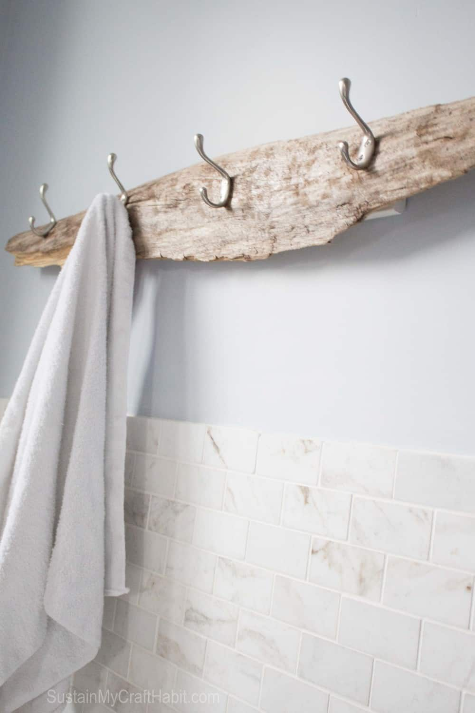 Driftwood rack