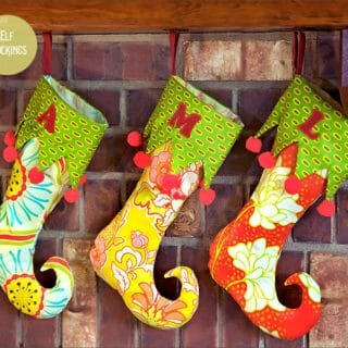 DIY Christmas Stockings to Hang Above Your Fireplace