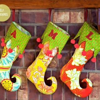 DIY Christmas Stockings to Hang Above Your Fireplace