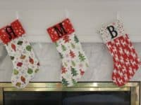 Family Stockings 200x150 DIY Christmas Stockings to Hang Above Your Fireplace