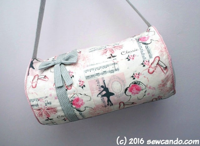 Girly gym bag